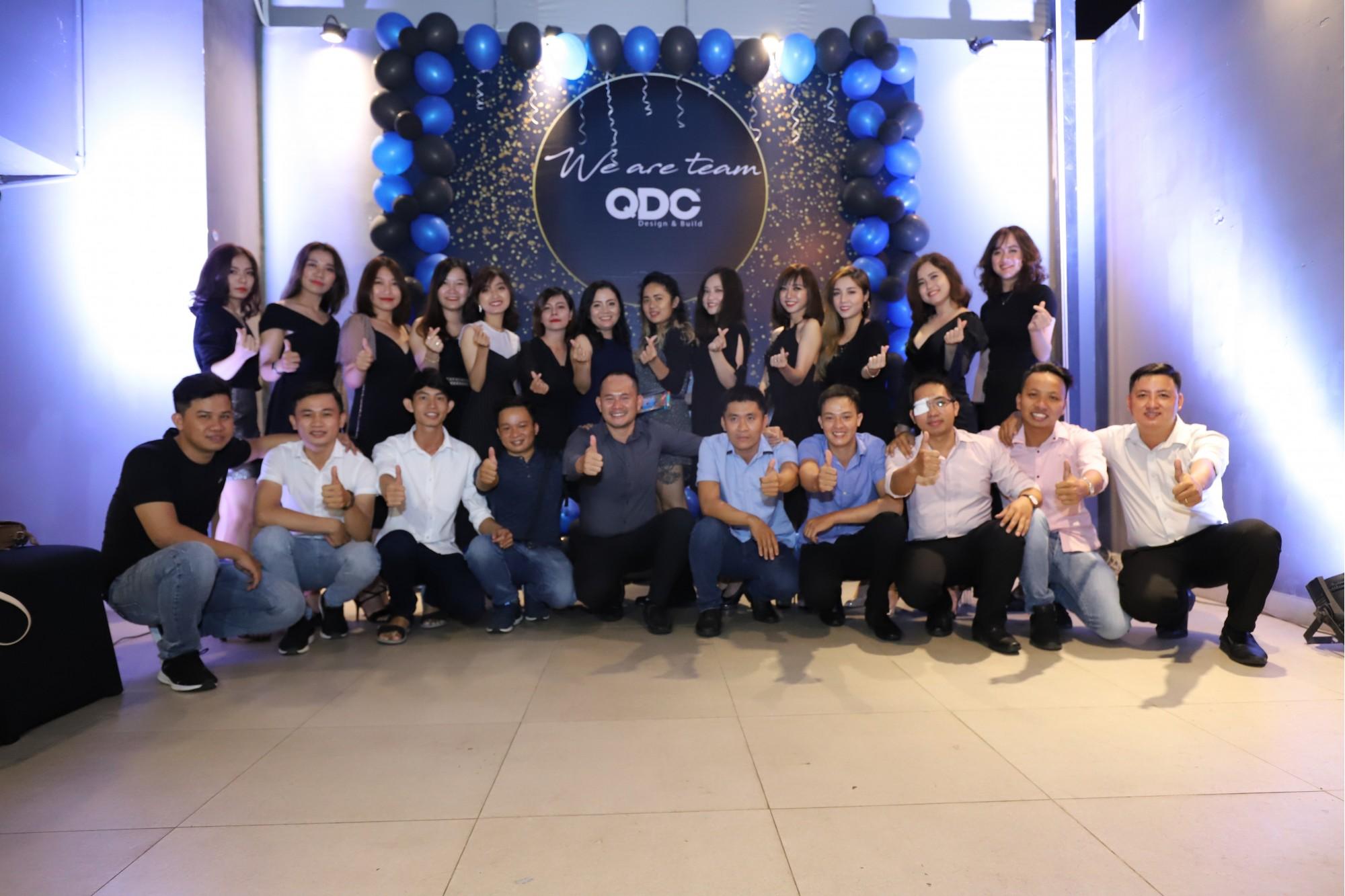 Tiệc Tất Niên QDC Design & Build 2018